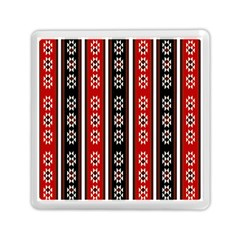 Folklore Pattern Memory Card Reader (square)