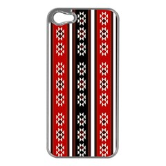 Folklore Pattern Apple Iphone 5 Case (silver)