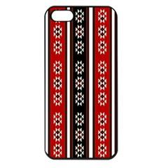 Folklore Pattern Apple Iphone 5 Seamless Case (black)