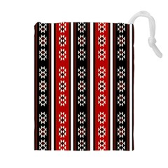 Folklore Pattern Drawstring Pouches (extra Large)