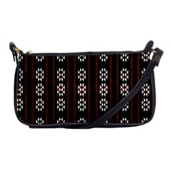 Folklore Pattern Shoulder Clutch Bags