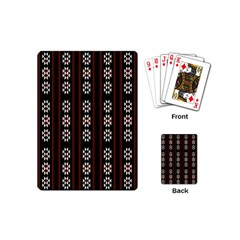 Folklore Pattern Playing Cards (mini)