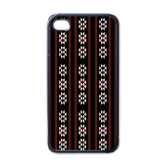 Folklore Pattern Apple Iphone 4 Case (black)