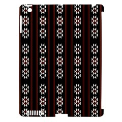 Folklore Pattern Apple Ipad 3/4 Hardshell Case (compatible With Smart Cover)
