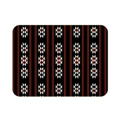 Folklore Pattern Double Sided Flano Blanket (mini)
