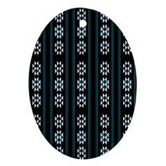 Folklore Pattern Ornament (oval)
