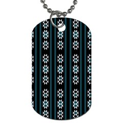 Folklore Pattern Dog Tag (two Sides)