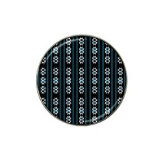 Folklore Pattern Hat Clip Ball Marker (4 Pack)
