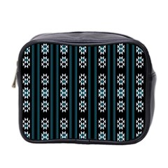 Folklore Pattern Mini Toiletries Bag 2 Side