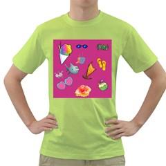 Aloha   Summer Fun 1 Green T Shirt