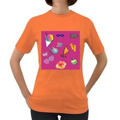 Aloha   Summer Fun 1 Women s Dark T Shirt