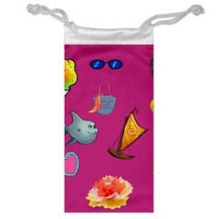 Aloha   Summer Fun 1 Jewelry Bag