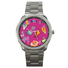 Aloha   Summer Fun 1 Sport Metal Watch