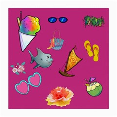 Aloha   Summer Fun 1 Medium Glasses Cloth (2 Side)