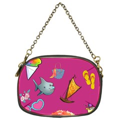 Aloha   Summer Fun 1 Chain Purses (one Side)