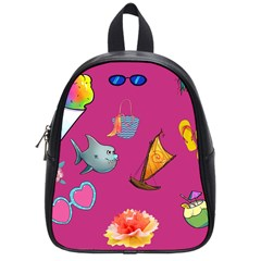 Aloha   Summer Fun 1 School Bag (small)