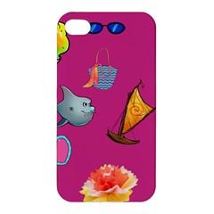 Aloha   Summer Fun 1 Apple Iphone 4/4s Hardshell Case