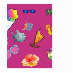 Aloha   Summer Fun 1 Large Garden Flag (two Sides)