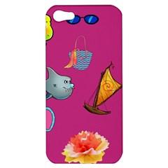 Aloha   Summer Fun 1 Apple Iphone 5 Hardshell Case
