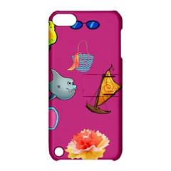 Aloha   Summer Fun 1 Apple Ipod Touch 5 Hardshell Case With Stand