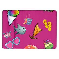 Aloha   Summer Fun 1 Samsung Galaxy Tab 10 1  P7500 Flip Case
