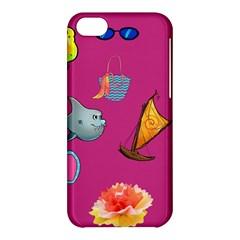 Aloha   Summer Fun 1 Apple Iphone 5c Hardshell Case