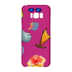 Aloha   Summer Fun 1 Samsung Galaxy S8 Hardshell Case