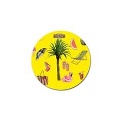 Aloha   Summer Fun 2 Golf Ball Marker