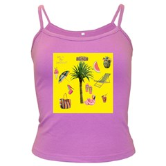 Aloha   Summer Fun 2 Dark Spaghetti Tank