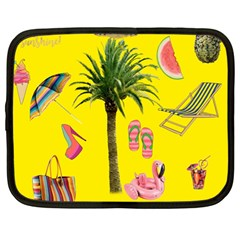 Aloha   Summer Fun 2 Netbook Case (large)