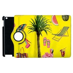 Aloha   Summer Fun 2 Apple Ipad 3/4 Flip 360 Case