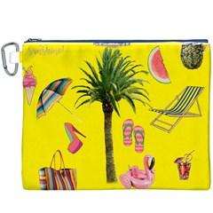 Aloha   Summer Fun 2 Canvas Cosmetic Bag (xxxl)