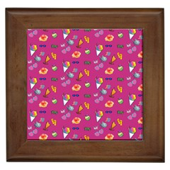 Aloha   Summer Fun 1b Framed Tiles