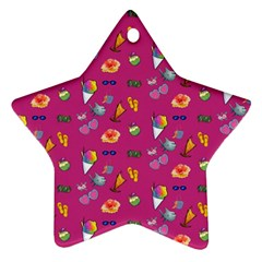 Aloha   Summer Fun 1b Ornament (star)