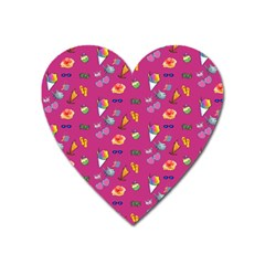 Aloha   Summer Fun 1b Heart Magnet