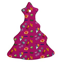 Aloha   Summer Fun 1b Ornament (christmas Tree)