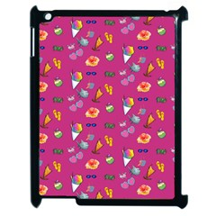 Aloha   Summer Fun 1b Apple Ipad 2 Case (black)