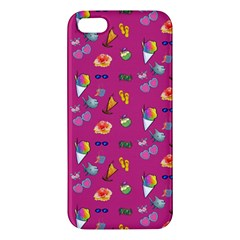 Aloha   Summer Fun 1b Iphone 5s/ Se Premium Hardshell Case