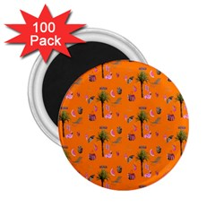 Aloha   Summer Fun 2c 2 25  Magnets (100 Pack)