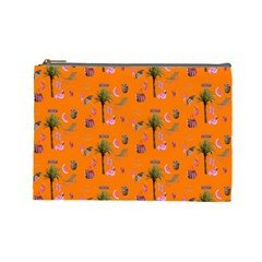 Aloha   Summer Fun 2c Cosmetic Bag (large)