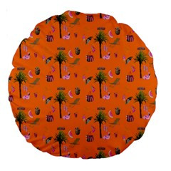 Aloha   Summer Fun 2c Large 18  Premium Round Cushions