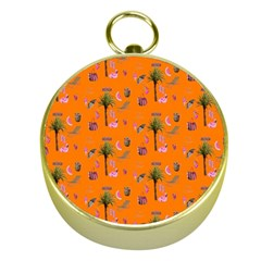 Aloha   Summer Fun 2c Gold Compasses