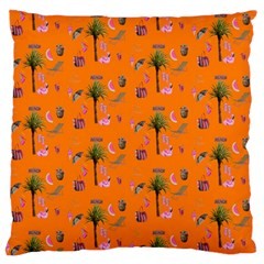 Aloha   Summer Fun 2c Large Flano Cushion Case (two Sides)