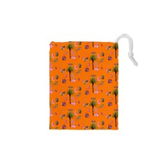 Aloha   Summer Fun 2c Drawstring Pouches (xs)