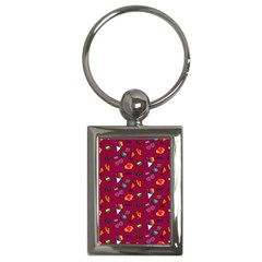 Aloha   Summer Fun 1c Key Chains (rectangle)