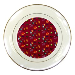 Aloha   Summer Fun 1c Porcelain Plates