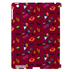 Aloha   Summer Fun 1c Apple Ipad 3/4 Hardshell Case (compatible With Smart Cover)