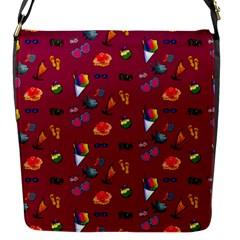 Aloha   Summer Fun 1c Flap Messenger Bag (s)