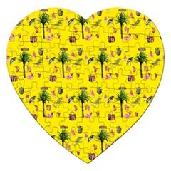Aloha   Summer Fun 2b Jigsaw Puzzle (heart)