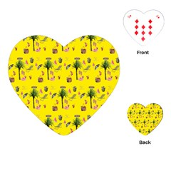 Aloha   Summer Fun 2b Playing Cards (heart)